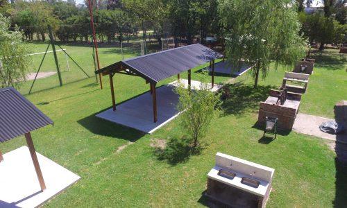 Vista aérea del Campo